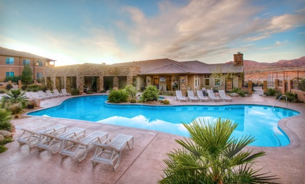 1- or 2-Night Stay for Up to Eight in a One-, Two-, or Three-Bedroom Suite at Coral Springs Resort in St. George, UT
