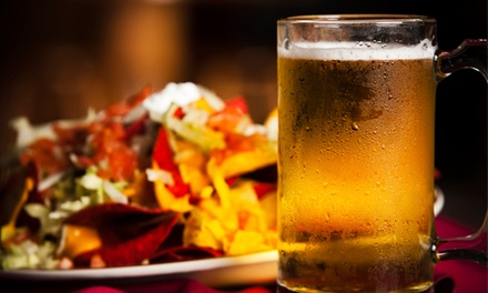 Indian and Canadian Meal with Beer for Two or Four at Dhoom Restaurant & Lounge (Up to 50% Off)