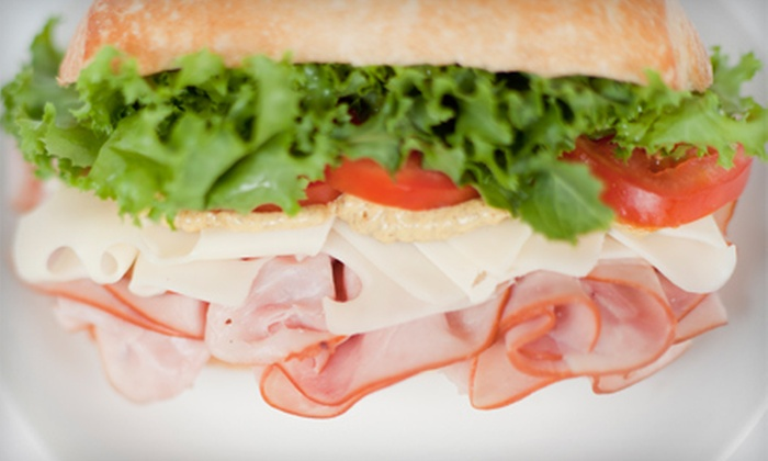 Lee's Hoagie House - Multiple Locations: Sandwiches and Sides or 3-Foot Party Hoagie at Lee's Hoagie House (Up to Half Off).