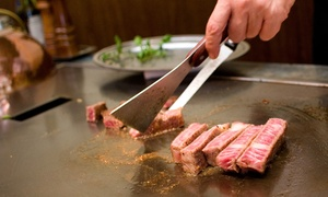 Koto Sake Japanese Steak House: 43% Off Japanese Food and Drinks for Two at Koto Sake Japanese Steak House