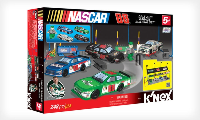 K'Nex Dale Jr.'s Garage Building Set: $7 for a K'Nex Dale Jr.'s Garage Building Set ($24.99 List Price)