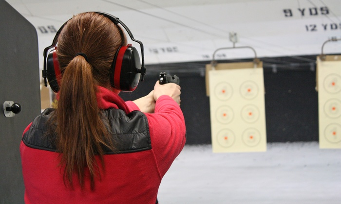 Lakes Trading Company - Forest Lake: 90 Minutes of Gun-Range Access for Two or Four at Lakes Trading Company (46% Off)