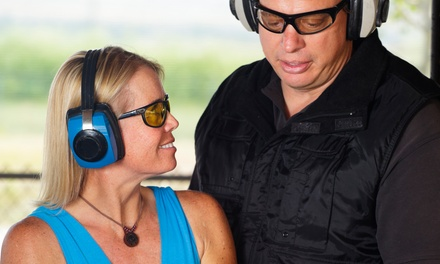 Introductory Course with Live Shooting of Multiple Guns for One or Two at Ready Learning Academy (Up to 67% Off)