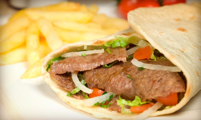 Think Grill - South Brunswick: Casual Greek Food and Drinks at Think Grill (Up to 59% Off). Three Options Available.