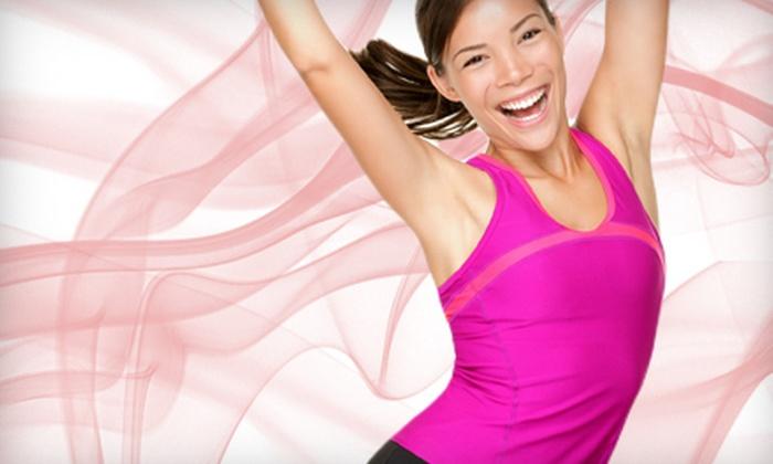 Dance Jam Fitness - Eagle: $20 for 10 Zumba, Dance Jam, or Strength-Training Classes at Dance Jam Fitness in Eagle ($70 Value)