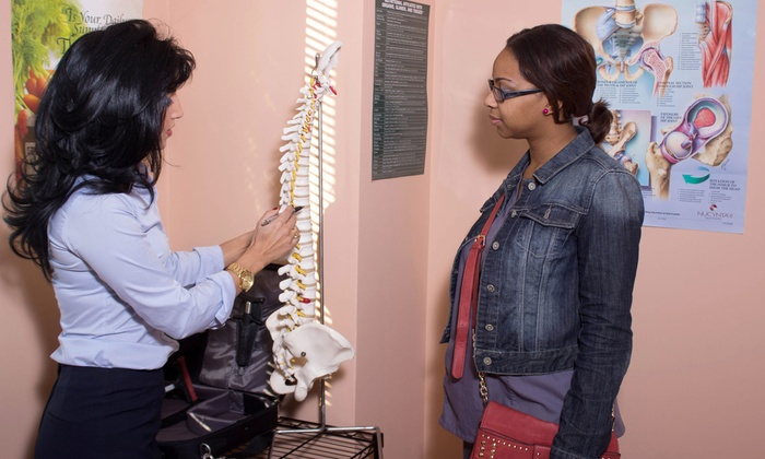 DR. Tannaz Modaresi, D.C. at Atlanta Spine and Alternative Pain Management Center - Buckhead: Chiropractic Exam and Adjustments with Dr. Tannaz Modaresi, D.C. (Up to 87% Off)