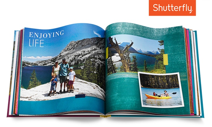 Shutterfly: 8x8, 8x11, or 10x10 Custom Photo Book from Shutterfly (Up to 67% Off)
