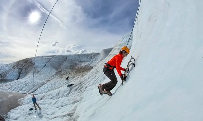 Wild Alpine Guides & Outfitters - Wild Alpine LLC: Half-Day Glacier Hike or Full-Day Ice-Climbing Excursion for Two or Four from Wild Alpine (Up to 48% Off)