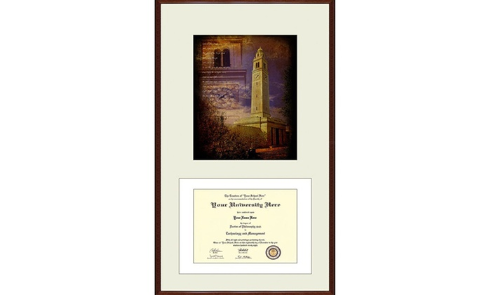 College-Diploma Frames & Prints | Groupon Goods