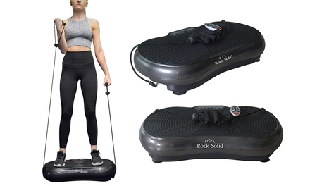 rock solid vibration fitness machine