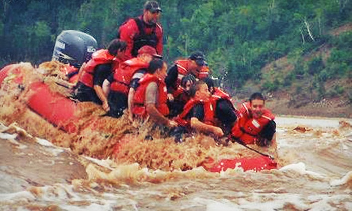 Fundy Tidal Bore Adventures - South Maitland: Two-Hour River-Rafting Tour for Two or Four from Fundy Tidal Bore Adventures (Up to 51% Off)