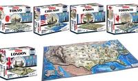 GROUPON: 4D Cityscape Puzzles 4D Cityscape Puzzles