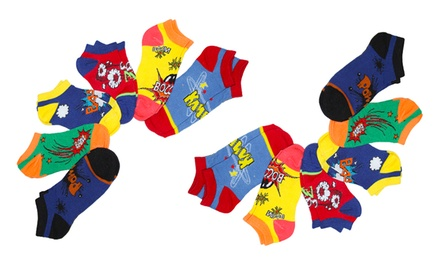 Minx Pow Wow Women's Anklet Socks in Assorted Colors (12-Pack)
