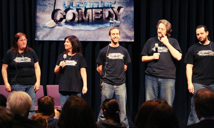 Clean Up Comedy - Newbury Park: Two Priority or VIP Tickets to See Clean Up Comedy at Newbury Park First Christian Church (Up to 53% Off)