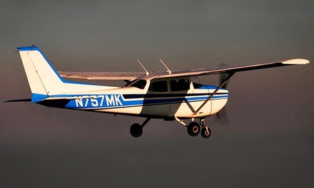 Introductory Flight Lesson with Option for Ride-Along Passenger from Flight 101 (Up to 43% Off)