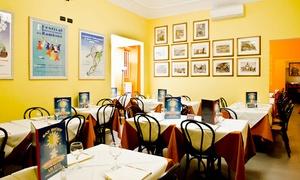 Eat Sicily: Eat Sicily - Menu con entrée, antipasto, primo, secondo, dolce e calice o bottiglia di vino (sconto fino a 68%)