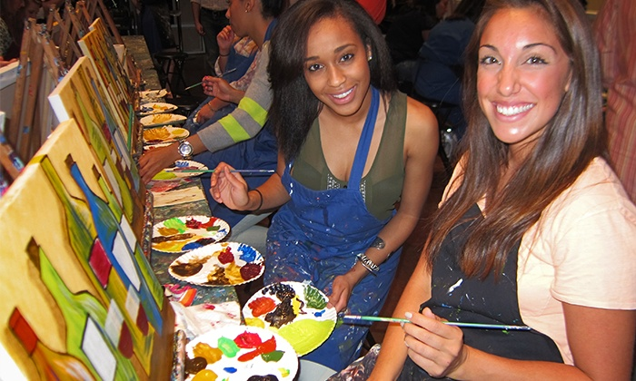 Pinot's Palette  - Alamo Heights: Three-Hour BYOB Painting Class for One, Two, or Four at Pinot's Palette (Up to 51% Off)