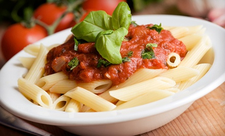$15 for Italian Dinner for Two with Entrees and Wine at Luigi's (Up to $31.80 Value)
