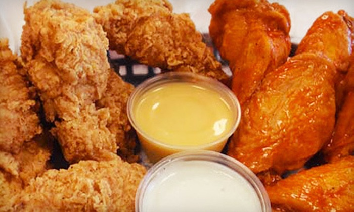 Tenders - Quadrangle: $5 Worth of Wings and Sandwiches