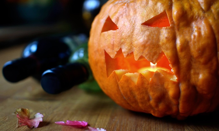 GrapestoBottles - Zoofari Conference Center: Halloween-Themed Wine Tasting for One from GrapestoBottles on October 25 (41% Off). Choose Between Two Options.