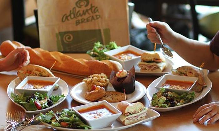 Atlanta Bread Company - Huntsville: $10 for $20 Worth of Sandwiches, Soups, and Salads at Atlanta Bread Company