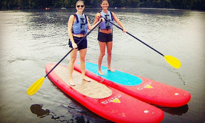 Urban Currents - Sandy Springs: Two-Hour Group Introduction to Standup-Paddleboarding Course for One, Two, or Six from Urban Currents (Up to 67% Off)