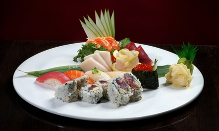 Sushi and Japanese Food for Two or Four at Sakura Home (Up to 46% Off)