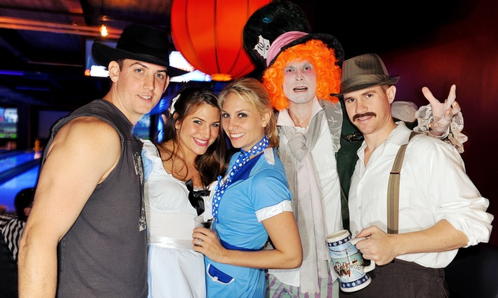 Ghosts + Goblins, Vampires + Vixens, and Walk the Dead Carpet  Halloween parties - Multiple Locations:         Halloween Party Pass: Three Parties, One Ticket(Up to 55% Off)