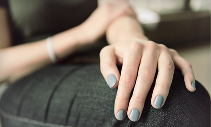 Chic Era Hair Removal Clinic - Rockcliffe - Smythe: One or Two Shellac or Bio-Seaweed Mani-Pedis at Chic Era Salon (Up to 81% Off)