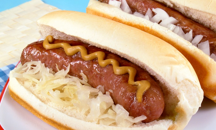Brat So Stop - Northeast Cobb: $20 for Four Groupons, Each Good for $10 Worth of Brats and Sandwiches at Brat So Stop ($40 Total Value)