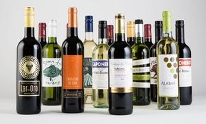 Splash Wines: 15-Bottle Wine Package from Splash Wines (Up to 75% Off)