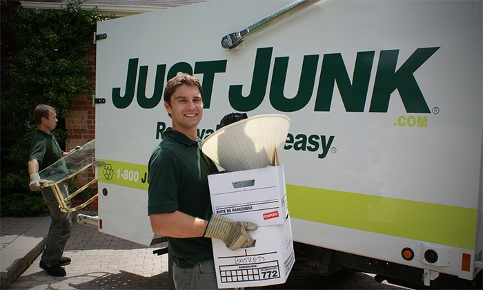 Just Junk - Sudbury / North Bay: Two or Four Cubic-Yards Worth of Junk Removal from Just Junk (Up to 63% Off)