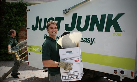 Two or Four Cubic-Yards Worth of Junk Removal from Just Junk (Up to 68% Off)