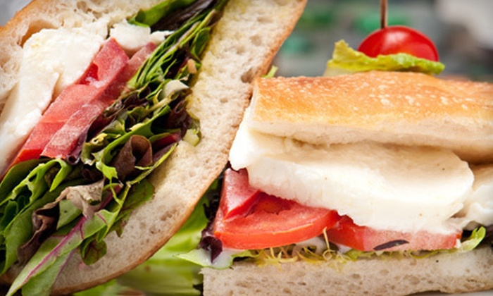 Paradise Cafe - West Village,Meat Packing District,Downtown: $10 Worth of Café Sandwiches and Drinks
