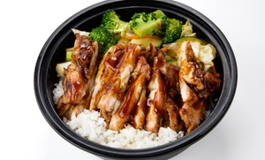 Teriyaki Madness: Two Teriyaki Bowls at Teriyaki Madness (37% Off)