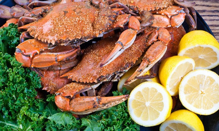 Waterman's Pride Seafood - Overlea: One or Two Dozen Steamed Crabs or $15 for $30 Worth of Seafood and Drinks at Waterman's Pride Seafood