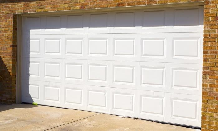 Adam's Garage Doors LLC - Oconomowoc: Garage-Door Tuneup and Inspection with Optional Roller Replacement from Adam's Garage Doors LLC (Up to 56% Off)