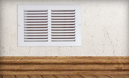 $139 for Complete Duct Cleaning of Unlimited Vents and a Furnace Inspection from KW Duct Cleaning ($378 Value)
