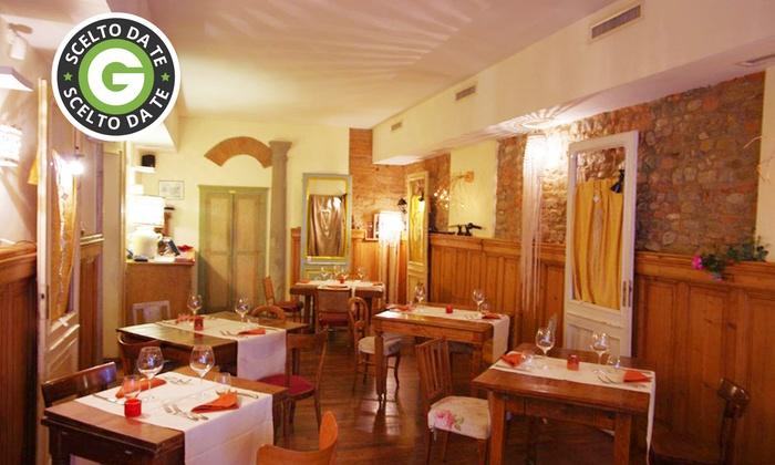 Baccarossa - BACCAROSSA: Baccarossa, segnalato Michelin - Cena di pesce o cena al tartufo a lume di candela da 59,90 €