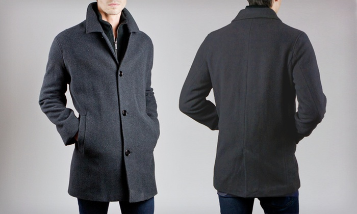Mens Car Coat