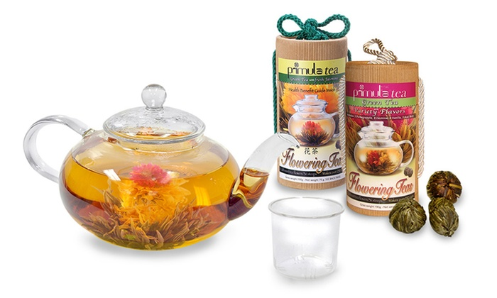 Flowering Tea Gift Sets: Epoca Tea Flowering Tea Gift Sets with a Teapot and 12 or 24 Teas from $19.99–$27.99. Free Shipping.