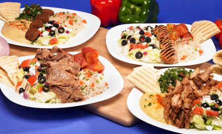 Mediterranean Meals for Two or Four at Taste of Mediterranean (Up to 50% Off)