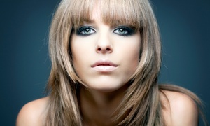 Grand Central Hair Salon: Haircut with Conditioning Treatment and Optional Partial Highlights at Grand Central Hair Salon (Up to 59% Off)