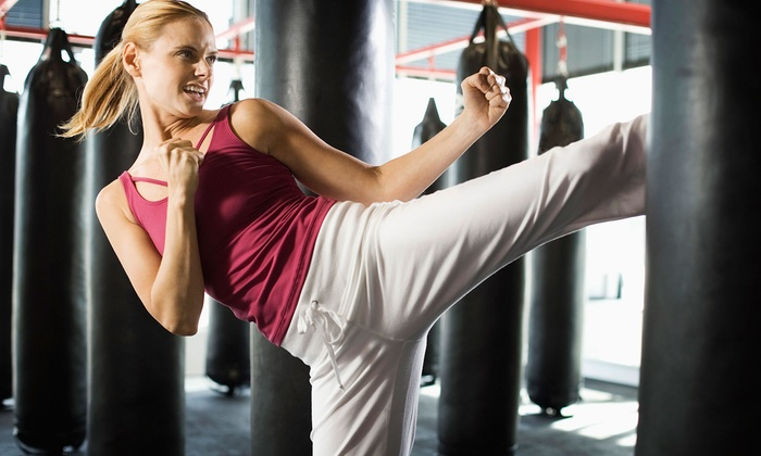 Evolution Martial Arts - Fairfax: $39.99 for Five Cardio-Kickboxing or Fitness Classes at Evolution Martial Arts ($160 Value)