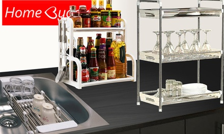 From $19.90 for a HomeBuddy Kitchen Rack for Spices and Utensils (worth up to $39.90). 4 Models