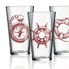 Lost at Sea Pub Glasses (4-Pack)