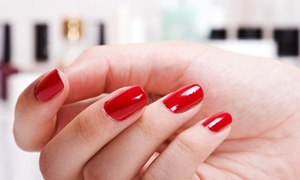 TRUDYS NAILS: Manicure and Pedicure With Gel Overlays At Trudy's Nails