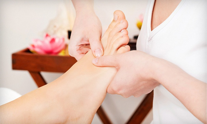 Beautiful You Express - Greater Harmony Hils: One or Three 60-Minute Reflexology Treatments with Sandals at Beautiful You Express (Up to 64% Off)