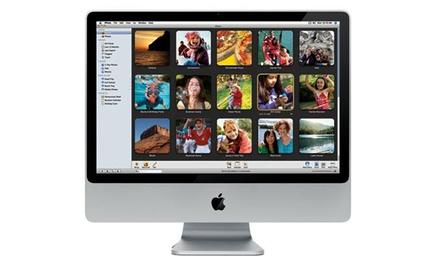iMac 20'' Core 2 Duo 160Go 2Go ou 4Go de RAM, avec clavier/souris sans fil en option, reconditionné. Livraison gratuite