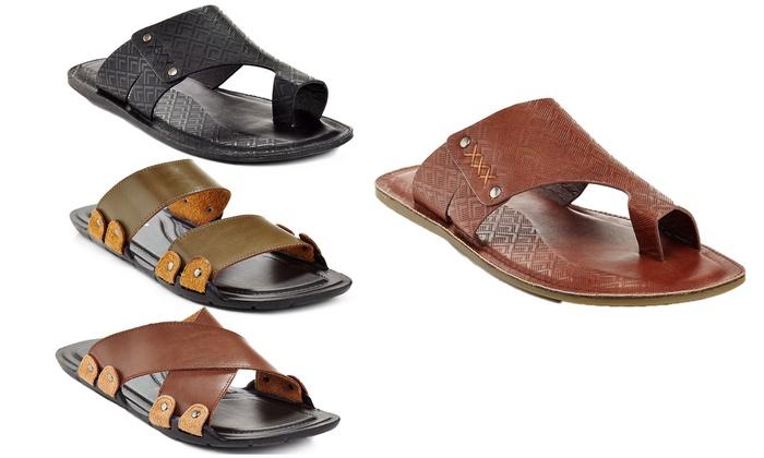 Henry Ferrera Men's Slip-On Casual Sandals